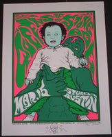 Jermaine Rogers QOTSA Queens of the Stone Age Austin Poster Doodled