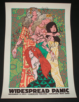 Jermaine Rogers Widespread Panic Concert Poster Syracuse 2013 Artist Edition