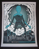 Jim Mazza Black Keys Poster St Louis 2014 Artist Edition