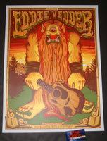Jim Mazza Eddie Vedder Madrid Poster Artist Edition Spain 2019