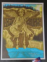 Jim Mazza Eric Church Manchester Poster Artist Edition 2019