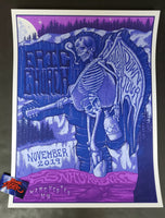 Jim Mazza Eric Church Manchester Poster Chief Merch Artist Edition 2019