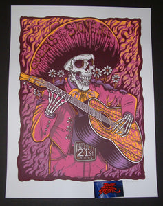 Jim Mazza Queens of the Stone Age Poster San Diego 2018 Artist Edition Night One