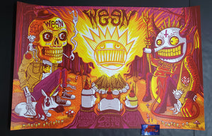 Jim Mazza Ween Denver Poster Uncut Artist Edition Halloween 2019