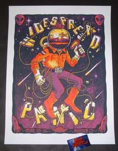 Jim Mazza Widespread Panic Red Rocks Poster Artist Edition 2019
