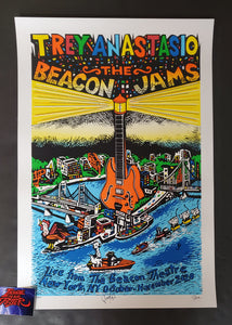 Jim Pollock Trey Anastasio Beacon Jams New York Poster Artist Edition 2020