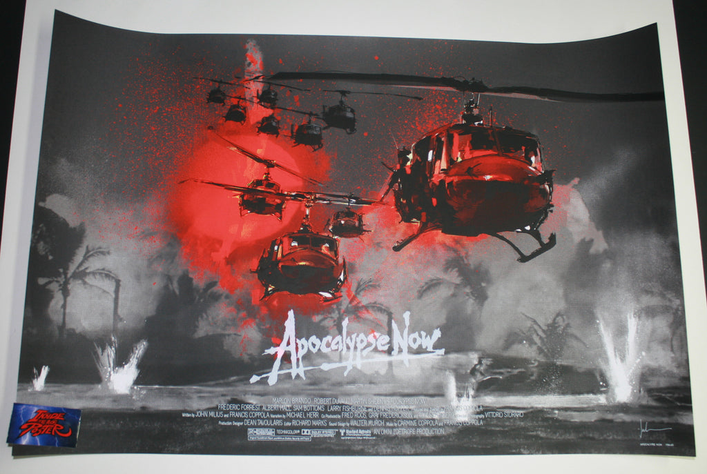 Jock Apocalypse Now Movie Poster Variant Charlie Don't Surf 2015