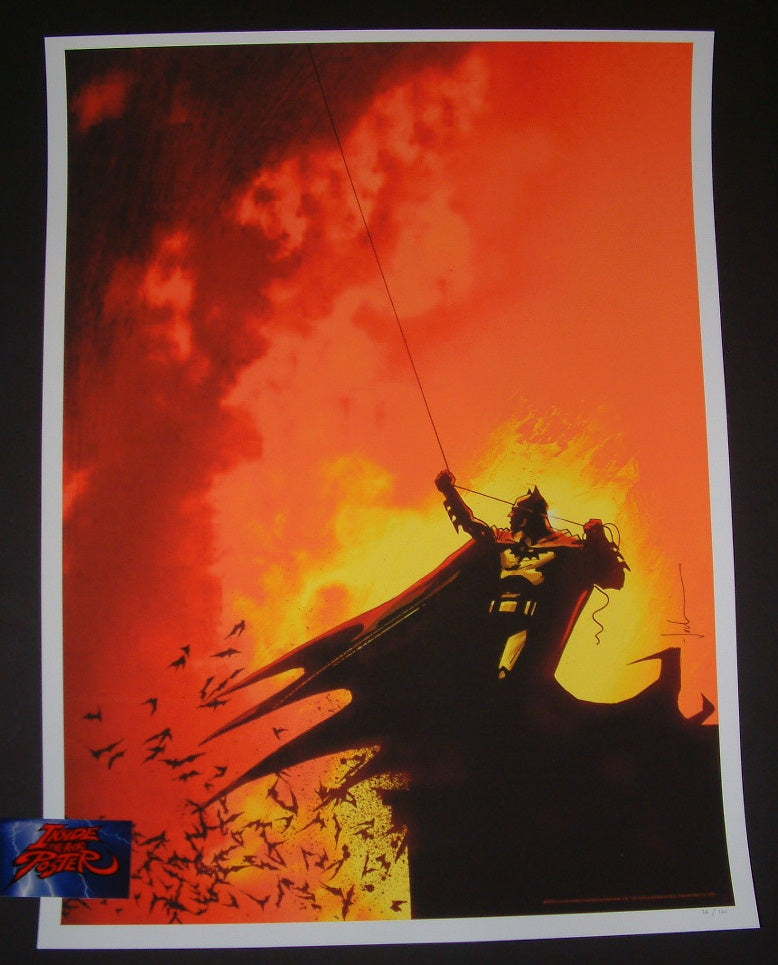 Jock Detective Comics #800 Cover Batman Art Print 2017