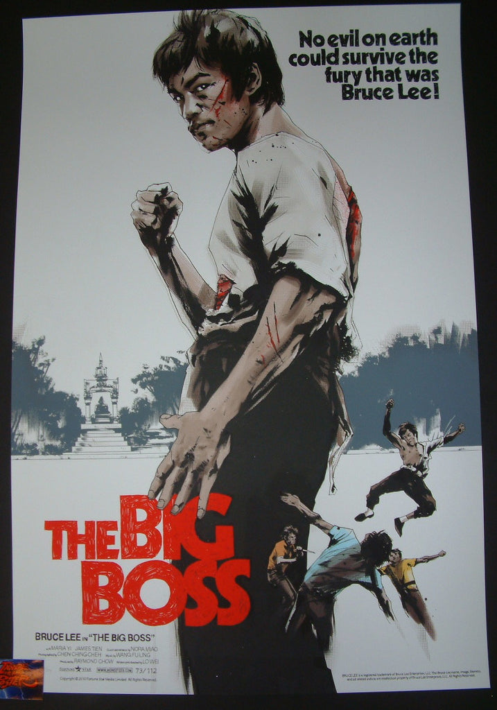 Jock Big Boss Bruce Lee Movie Poster Mondo 2017