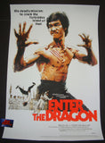 Jock Enter The Dragon Bruce Lee Movie Poster Mondo 2017