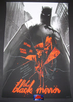 Jock Francesco Francavilla The Black Mirror Batman Comic Book Poster 2014 Mondo