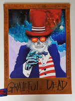 Joey Feldman Grateful Dead Uncle Sam Wants You Poster 2019