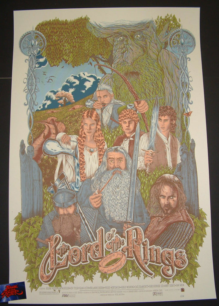 Johan Jaccob Lord Of The Rings Movie Poster Good 2015