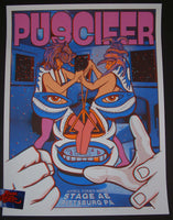 John Howard Puscifer Poster Pittsburgh 2016 Artist Edition
