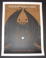 John Vogl Widespread Panic Poster Broomfield Orange Variant 2014 Artist Proof
