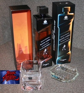 Johnnie Walker Director's Cut Blade Runner 2049 Movie Cibi Glass & Ashtray Set