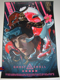 Juan Carlos Ruiz Burgos Ghost In The Shell Movie Poster 2017
