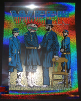 Justin Hampton Jermaine Rogers Ween Poster Broomfield Sparkle Foil Variant 2016 Artist Edition