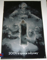 Karl Fitzgerald 2001 A Space Odyssey Movie Poster Foil Variant 2017