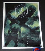 Karl Fitzgerald Nine Inch Nails Detroit Poster 2018 Night 2