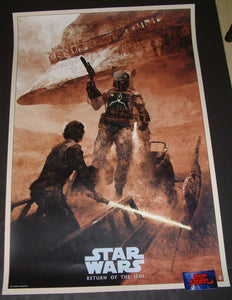 Karl Fitzgerald Return of the Jedi Star Wars Movie Poster 2018