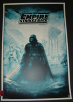 Karl Fitzgerald Star Wars Empire Strikes Back Movie Poster 2017
