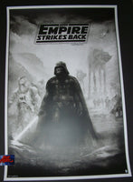 Karl Fitzgerald Star Wars Empire Strikes Back Movie Poster Variant 2017