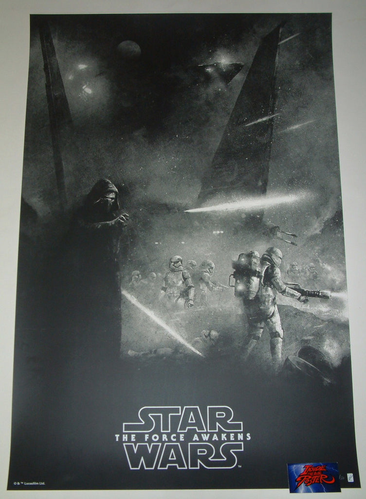 Karl Fitzgerald Star Wars The Force Awakens Movie Poster Variant 2017