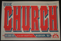 Keith Neltner Eric Church Madison Poster 2012