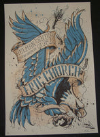 Keith Neltner Eric Church Terre Haute Tour Poster Signed AP 2012