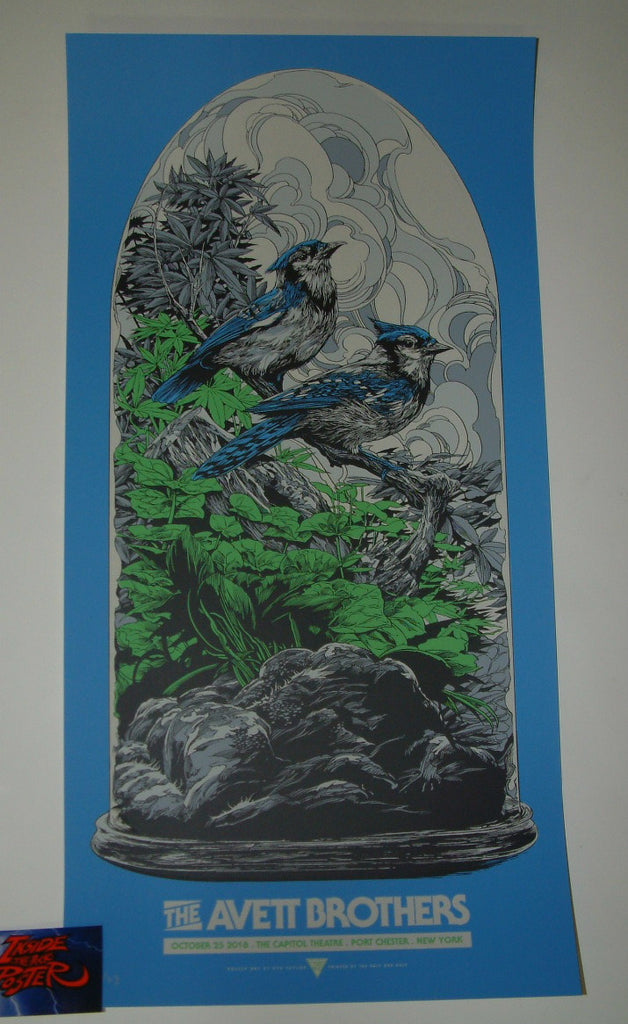 Ken Taylor Avett Brothers Poster Port Chester Artist Edition Night One 2018