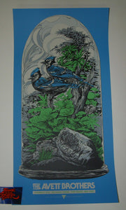 Ken Taylor Avett Brothers Poster Port Chester Artist Edition Night Three 2018