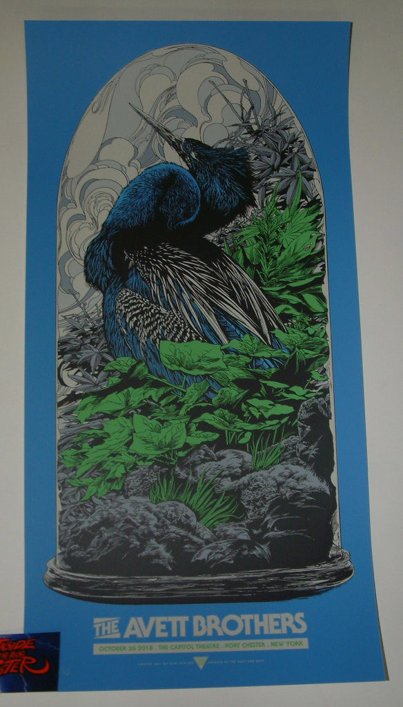 Ken Taylor Avett Brothers Poster Port Chester Artist Edition Night Two 2018