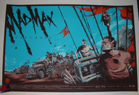 Ken Taylor Mad Max Fury Road Movie Poster 2015 Mondotees