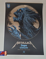 Ken Taylor Metallica Prague Czech Republic Poster Artist Edition 2019