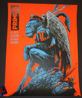Ken Taylor Primus San Diego Poster 2016 Artist Proof Night 1