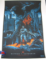 Ken Taylor Batman V Superman Dawn of Justice Movie Poster 2016 Mondo