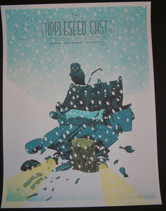 Kevin Tong Appleseed Cast Los Angeles Poster S/N