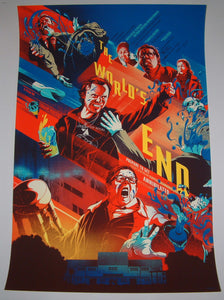 Kevin Tong Edgar Wright The World's End Movie Poster Mondo 2013