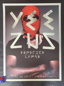 Kii Arens Kayne West Los Angeles Poster Artist Edition 2013