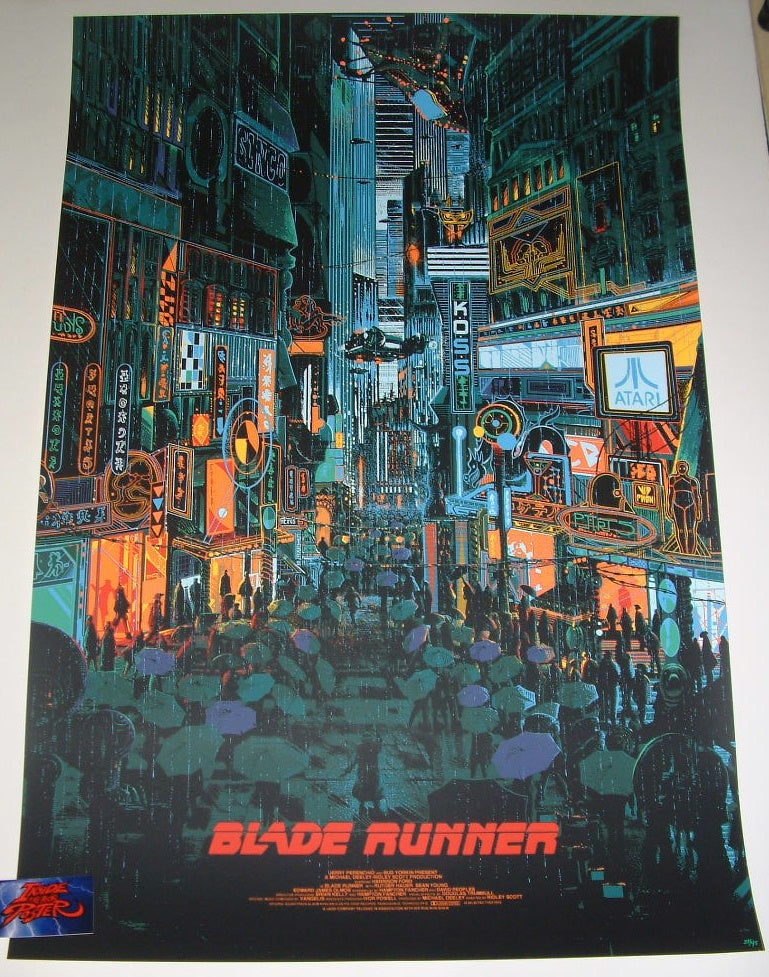 Kilian Eng Blade Runner Movie Poster Variant 2017