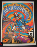 Kyle Baker Dead & Company Noblesville Poster Artist Edition 2018