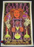 Kyler Sharp Black Sabbath Poster Tacoma 2016 Artist Edition