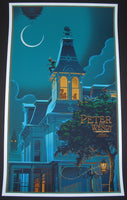 Laurent Durieux Peter Wendy Pan Movie Poster Glow in the Dark Variant 2013