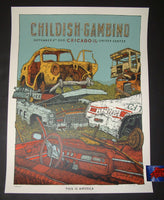 Landland Childish Gambino Chicago Poster 2018 Artist Edition