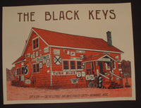 Landland Black Keys Poster Milwaukee 2014 Artist Edition