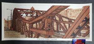 Landland Cortland Street Drawbridge Art Print Actual Brown Variant 2020