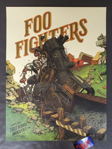 Landland Foo Fighters Minneapolis Poster Artist Edition 2020