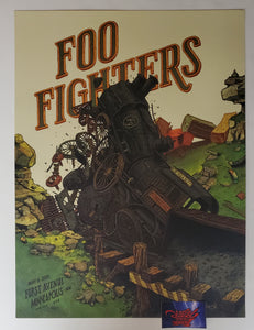 Landland Foo Fighters Minneapolis Poster 2020