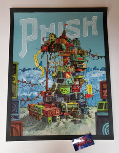 Landland Phish New York Poster Artist Edition 2019 New Years Eve